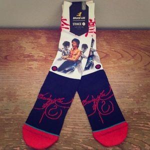 🔥NEW Stance x Bruce Lee Socks Fighter Legends🔥